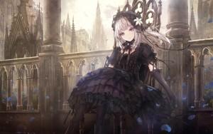 castle,  gothic lolita,  fantaasy