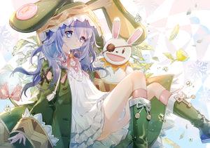 date a live,  himekawa yoshino,  tail,  beast ears,  dress,  bunny ears,  skirt lift