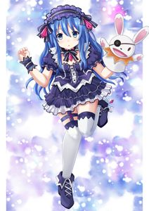 date a live,  yoshino (date a live),  fairy fencer f,  cosplay,  thighhighs